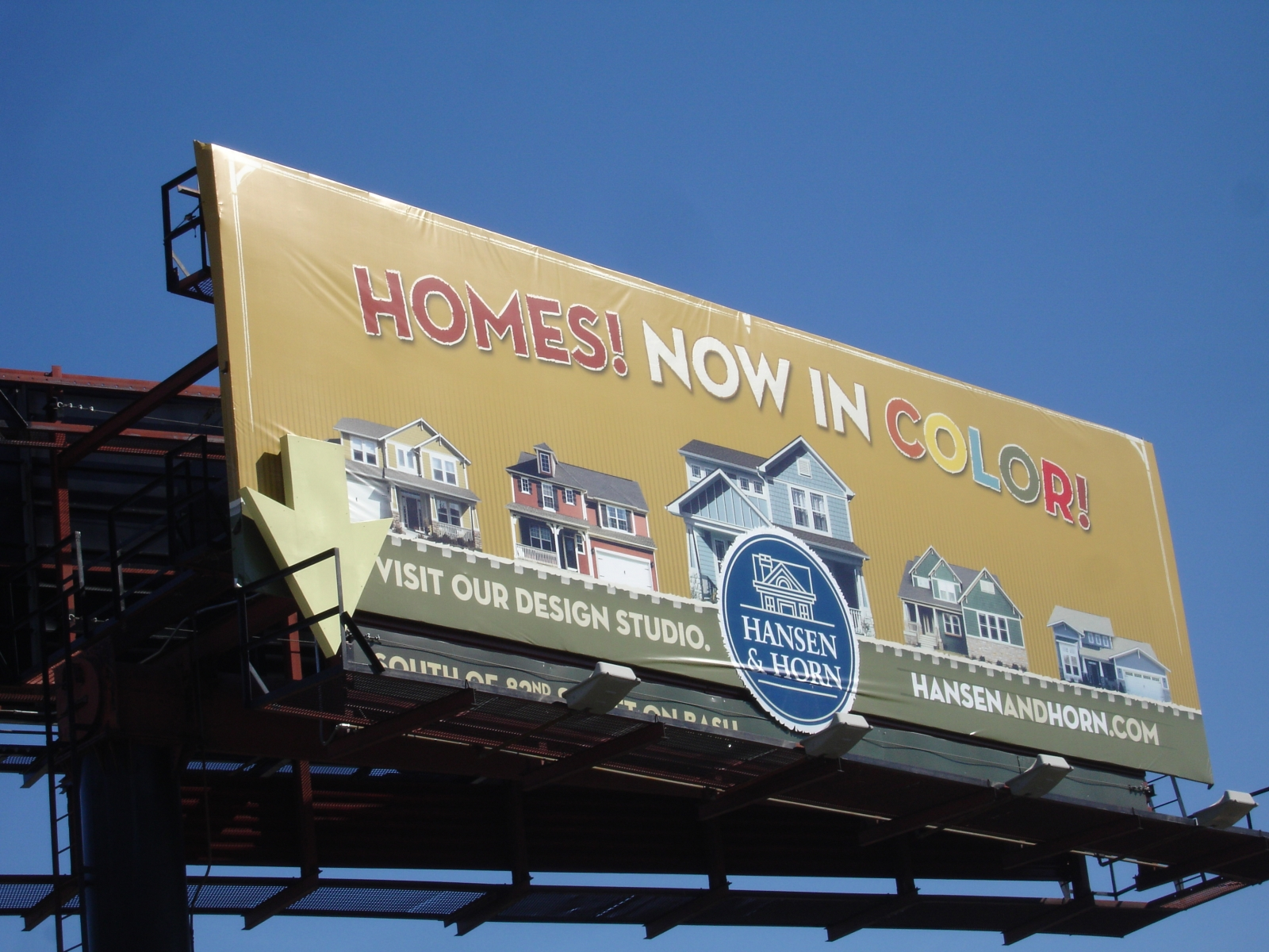 Home Builder Billboard Printing